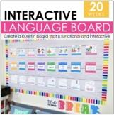 #June2021HalfofSpeech Interactive Language Bulletin Board   Speech Decor