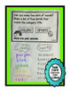 Interactive Language Foldable for First Grade