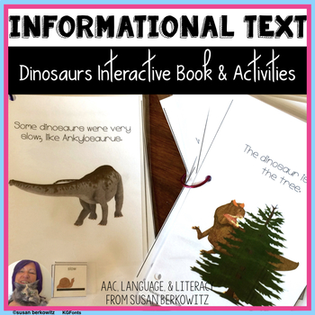 Dinosaurs Interactive Language Fun for Speech Therapy Special Education Autism