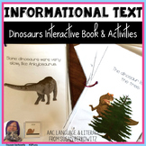 Dinosaurs Interactive Language Activities for Speech Thera