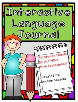 Interactive Language/Grammar Journal Aligned with CCSS for Grades 3-5
