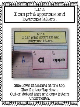 Interactive Language Journals {ALL 1st GRADE LANGUAGE CCSS included}