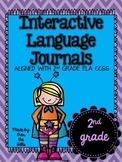 Interactive Language Journals {ALL 2nd GRADE LANGUAGE CCSS