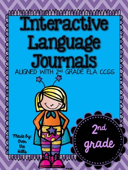 Interactive Language Journals {ALL 2nd GRADE LANGUAGE CCSS