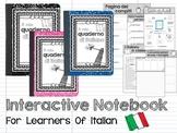 Interactive Notebook (in Italian)
