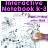 Interactive Language Notebook for Speech Therapy or Specia