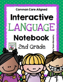 Second Interactive Language Notebook - Second Grade