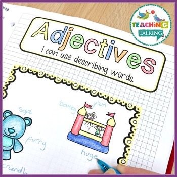 Language Activities for Notebooks - Free Sample