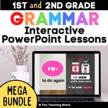 Interactive Language and Grammar PowerPoint Lessons Mega Bundle