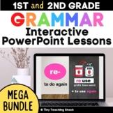 Interactive Language and Grammar PowerPoint Lessons Mega Bundle