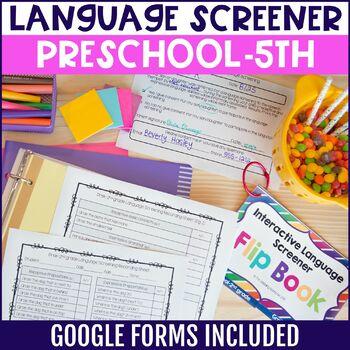 Interactive Language Screener Flip Book