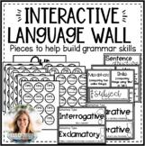 Interactive Language Wall Pieces to Build Grammar Skills