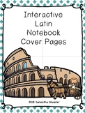 Interactive Latin Notebook Cover Pages