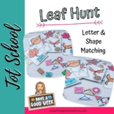 Interactive Leaf Shape/Letter Hunt