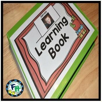 Interactive Learning Binder (Pre-K, Kindergarten, Special Needs)