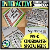 Interactive Learning Binder (Pre-K, Kindergarten, Special Needs)