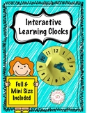 Interactive Learning Clock #digitaldollarspot