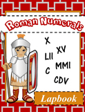 Interactive Learning: Roman Numerals Lapbook Unit