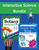 Interactive Learning Science Bundle (2 Unit Studies - Botany and Bones)