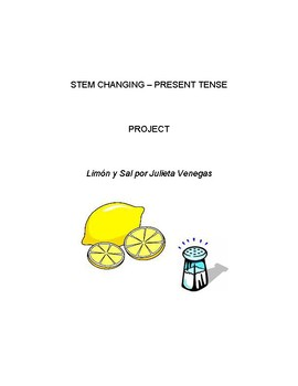 Interactive Learning - Stem Changing - Present Tense