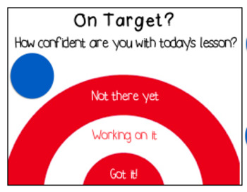 Interactive Learning Target Desk Resource