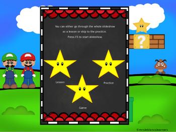 Interactive Lesson - Writing Sentences