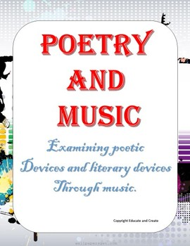 Interactive Lesson in Poetry and Music