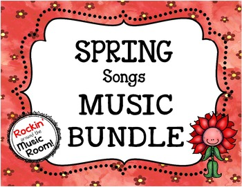 Interactive Lessons - SPRING Songs Collection