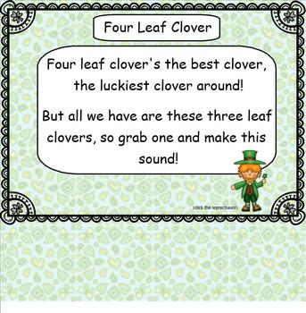 Interactive Lessons - St. Patrick's Day Collection