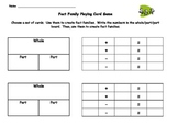 Interactive Lessons about Fact Families - Printable Fact F