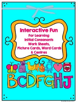 Alphabet - Interactive Printables and Mini Lessons - Bb to Jj