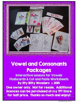 Vowels - Interactive Alphabet Printables and Lessons