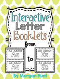 Interactive Letter Booklets for A-Z {CCSS Aligned}