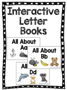 Interactive Letter Books