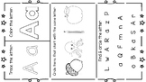 Interactive Letter Learning Pages
