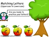 Interactive Letter Match (Uppercase to Lowercase)