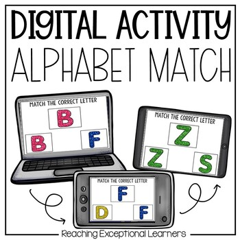 Interactive Letter Match for Special Education