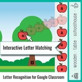 Interactive Letter Matching for Google Classroom