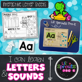 Interactive Letter Printables - A-Z Letter Printables