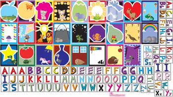 Interactive Letters Wall Play Set