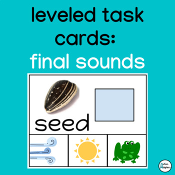 Interactive Leveled Final Sound Matching Cards