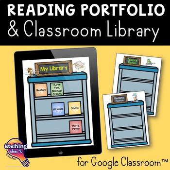 Interactive Library & Reading Portfolio Google Drive Alternative to Reading Logs