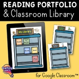 Interactive Library & Reading Portfolio Google Drive Alternative to Reading Logs