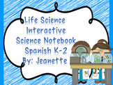 Interactive Life Science Notebook Spanish