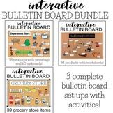 Interactive Life Skills Bulletin Board BUNDLE - 3 Total