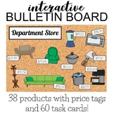 Household Goods- Interactive Bulletin Board w/ task cards