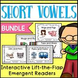 Short Vowels Emergent Readers {BUNDLE}