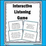 Interactive Listening Game - Icebreaker and Community Builder