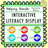 Interactive Literacy Display & Help Cards: Improving Writing