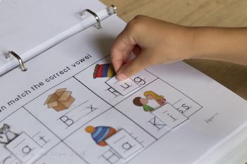 Interactive Literacy Folder (Pre-K/Kindergarten)